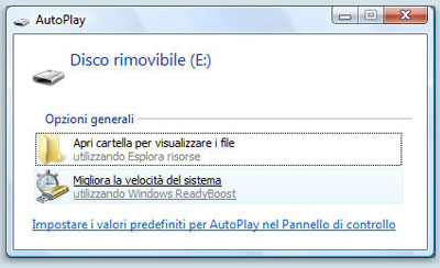 ReadyBoost su Windows Vista